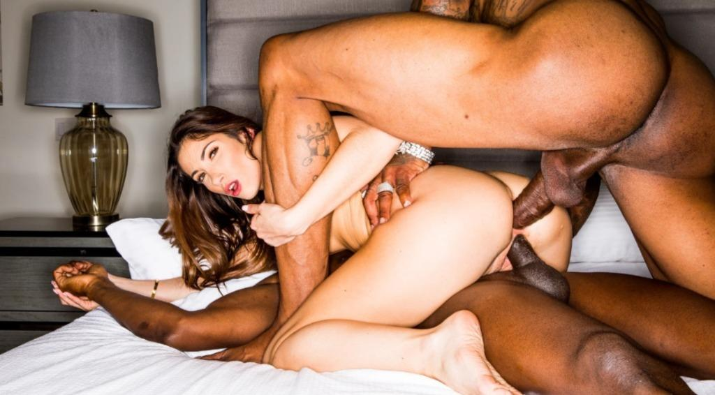 Threesome Anal Cream Pie